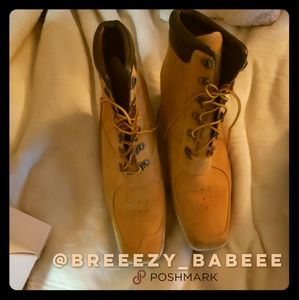 Timbs Super Cute Boots w/Small Heel!!!